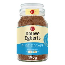 Douwe Egberts Pure Decaffeinated Instant Coffee 190G