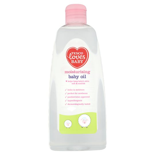 Tesco Loves Baby And Toddler Moisturising Oil 500Ml