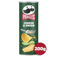 Pringles Cheese And Onion Crisps 200G