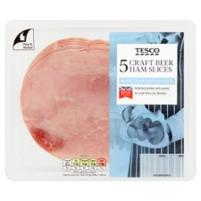 Tesco Craft Beer British Ham 125G