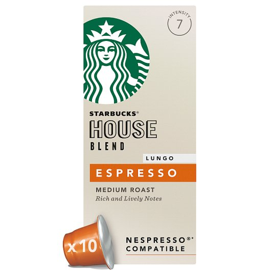 Starbucks Coffee House Blend Lungo Pods 10 Pack