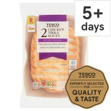 Tesco 2 Chicken Tikka Slices 300G
