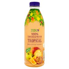 Tesco 100% Squeezed Tropical Juice 1 Litre