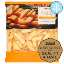 Tesco Steak Oven Cut Chips 1.5Kg