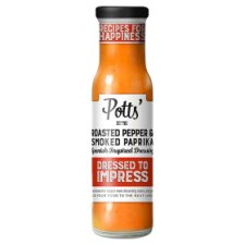 Potts Roasted Pepper And Paprika Dressing 240Ml