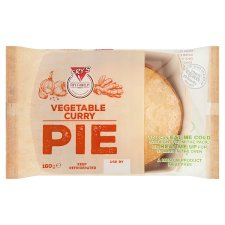 Fry's Vegan Vegetable Curry Pie 160G