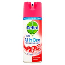 Dettol All In One Disinfectant Spray Pomegranate 400 Ml