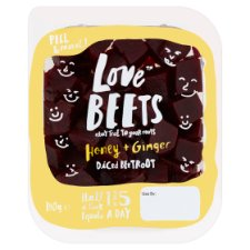 Love Beets Honey And Ginger Beetroot 180G