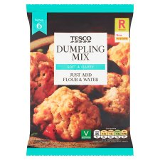 Tesco Dumplings Mix 137G