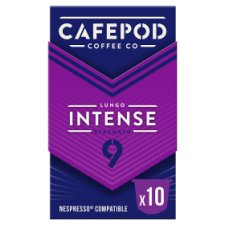 image 1 of Cafepod Intense #9 Coffee Pods 10 Servings