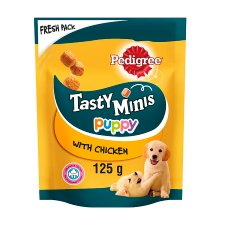 Pedigree Tasty Bites Chicken Puppy Treats 125G