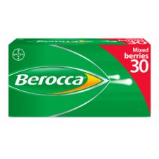Berocca Effervescent Mixed Berries 30S