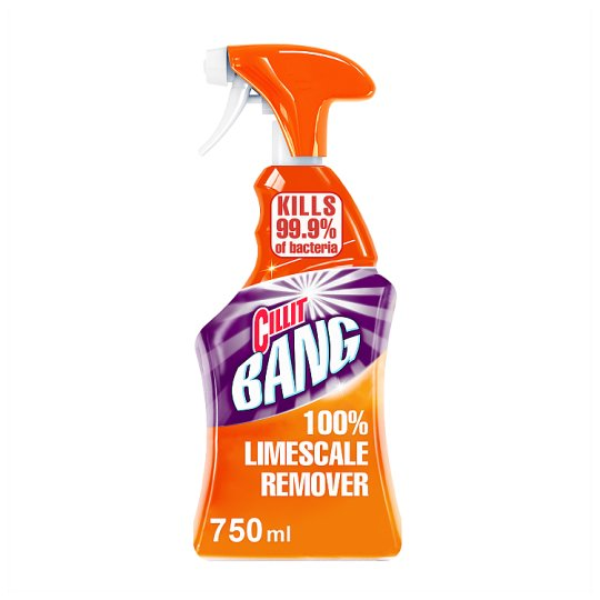 Cillit Bang Cleaner Spray Limescale And Grime 750 Ml