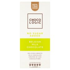 Chocologic No Added Sugar Milk Chocolate Bar 80G