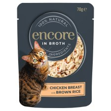 Encore Chicken Rice Cat Food Pouch 70G