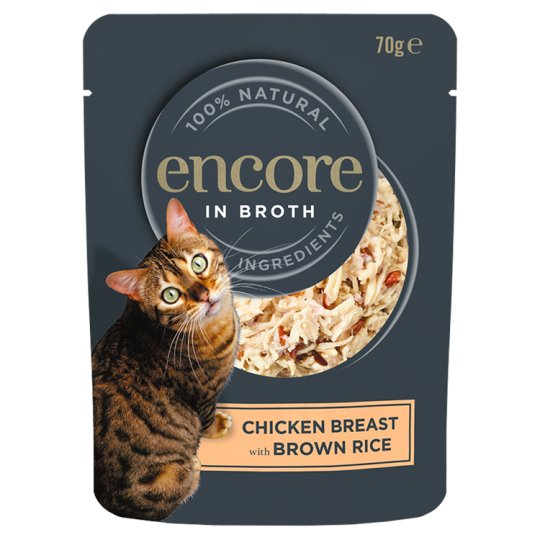 Encore Chicken And Brown Rice 70G