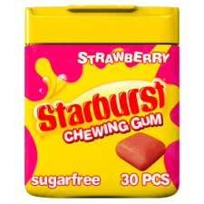 Starburst Strawberry Gum 30 Cubes