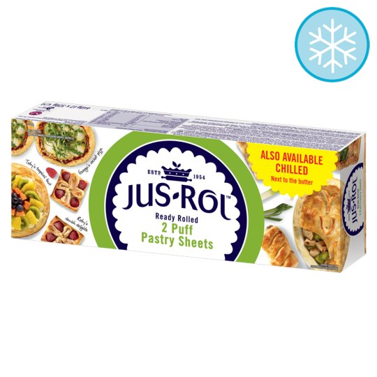 Jus-Rol Puff Pastry Sheets 2 X 320G