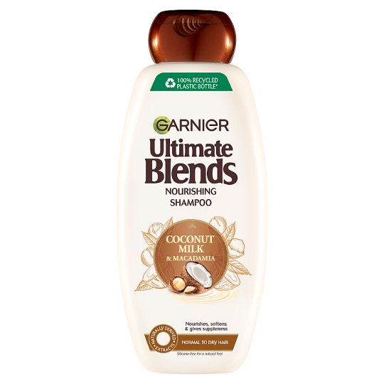 image 1 of Garnier Ultimate Blends Coconut Milk Shampoo Dry Hair 360Ml