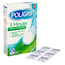 Poligrip 3 Minute Cleanser X30