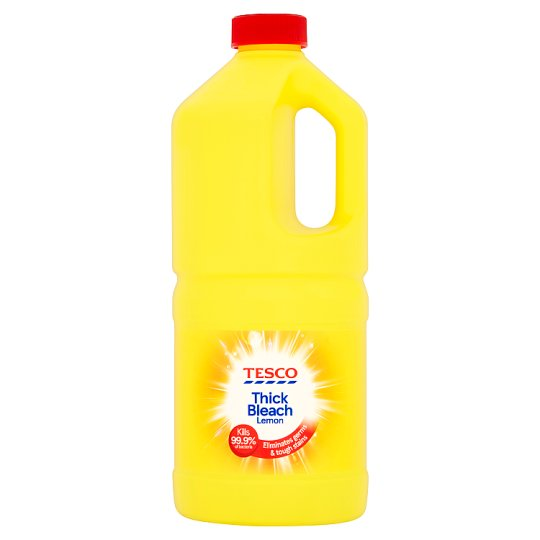 Tesco Thick Bleach 24 Hour Citrus 2Ltr