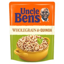 Uncle Bens Microwave Wholegrain And Quinoa Rice 220G