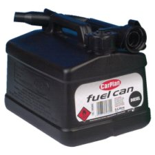 Carplan Black Fuel Can