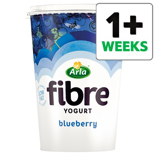 Arla Fibre Blueberry Yogurt 450G