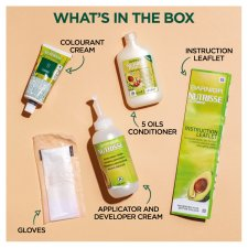 image 3 of Garnier Nutrisse 3.23 Dark Quartz Brown Permanent Hair Dye