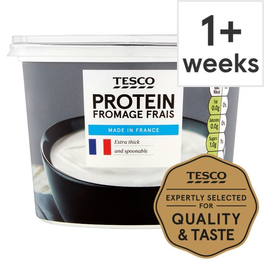 Tesco High Protein Fromage Frais Fat Free 500G