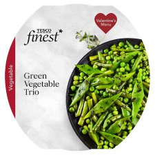 Tesco Finest Green Vegetable Trio 260G