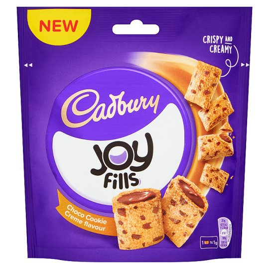 Cadbury Joyfills Chocolate Cookie Creme 90G
