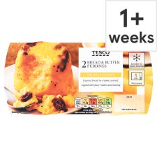 Tesco Bread & Butter Puddings 2 X 120G