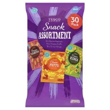 Tesco Variety Snack 30 Pack