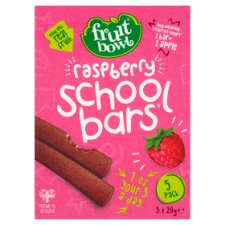 Fruit Bowl School Bars Raspberry 100G