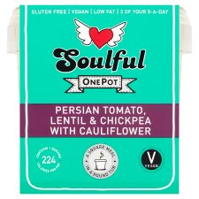 Soulful Persian Tomato Lentil & Chickpea 380G