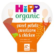 Hipp Organic Sweet Potato And Chicken Tray Meal 230G
