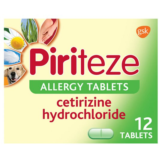 image 1 of Piriteze Allergy Tablets 12S