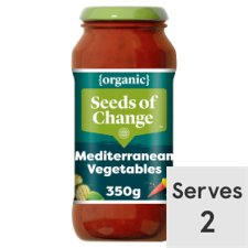 Seeds Of Change Organic Mediterranean Vegetable Sauce 350G