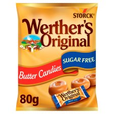 Werthers Original Sugar Free Butter Candy 80G