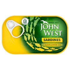 John West Sardines Sunflower Oil 120Gm