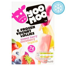 Yoomoo Yogurt Lollies 6 X 55Ml