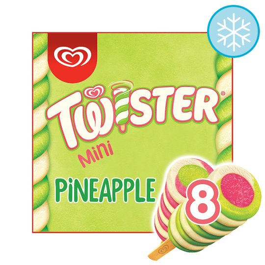Twister Mini Ice Cream Lolly 8 X 50Ml