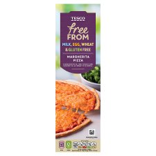 Tesco Free From Margherita Pizza 330G