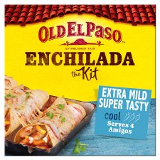Old El Paso Extra Mild Enchilada Dinner Kit 585G