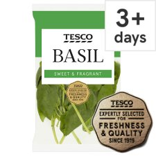 Tesco Cut Basil 30G