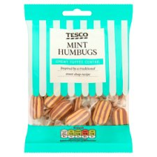 Tesco Mint Humbugs 200G