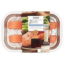 Tesco Salmon Fillets With Soy Ginger And Chilli 248G