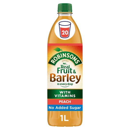 Robinsons Fruit And Barley Peach 1L