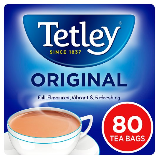 Tetley Softpack 80 Tea Bags 250G
